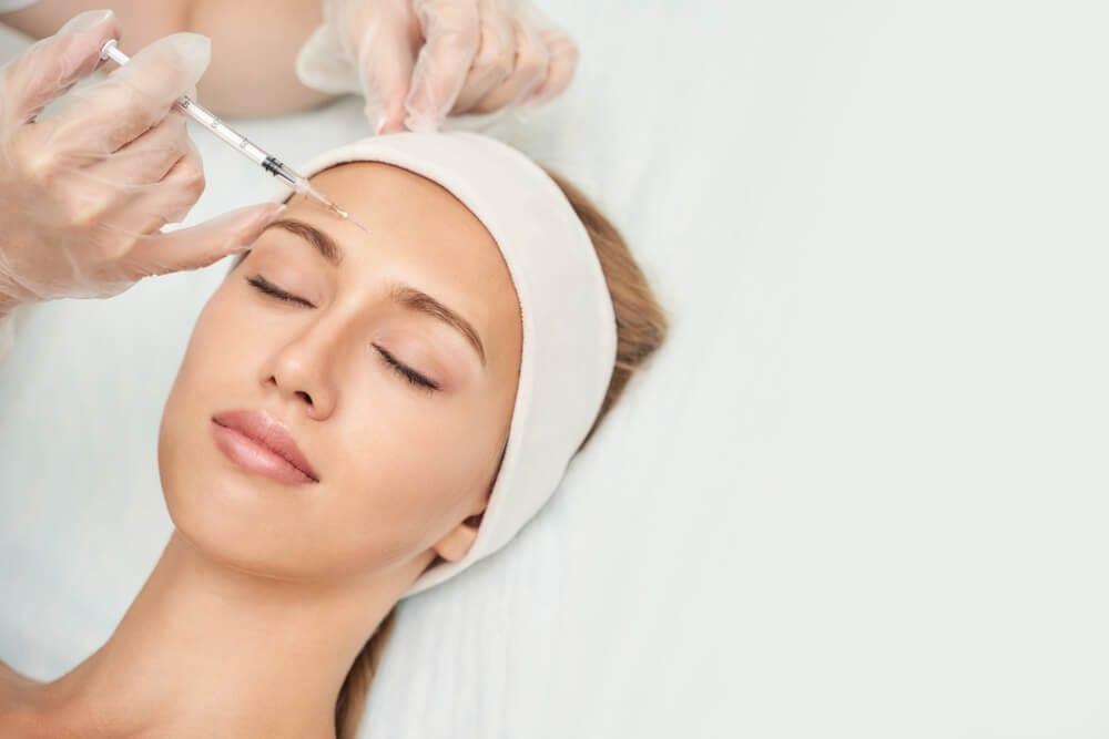 Near Eye Injection At Spa Salon